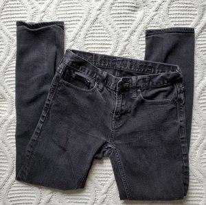 American Eagle Men's Black Skinny Jean